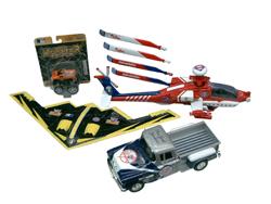 2004 Major League Baseball P-51 Planes and Mini-Monster Trucks